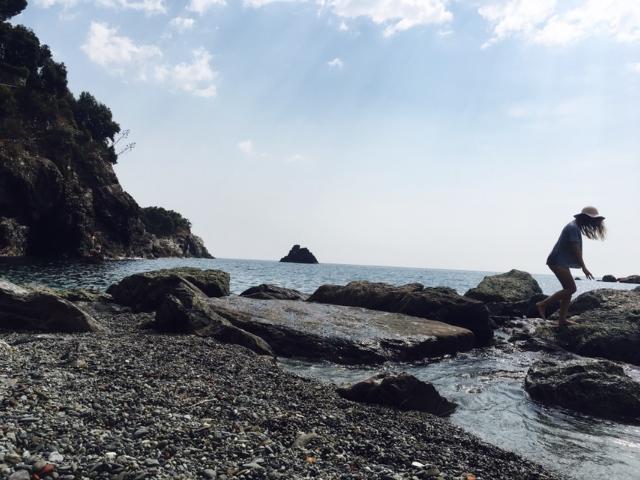 Plaża w Monterosso