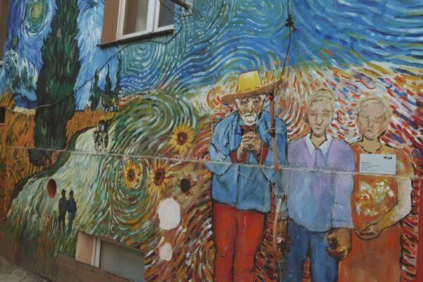 Street art przy Roosvelta – Wrocław inaczej