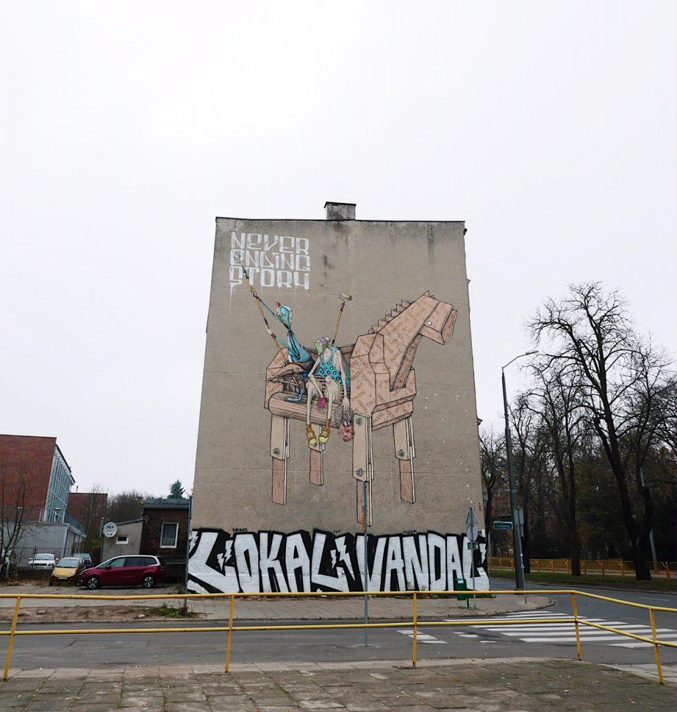 Mural Szczecin