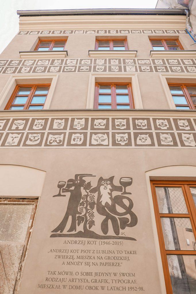 Rynek w Lublinie - Kamienica Kota
