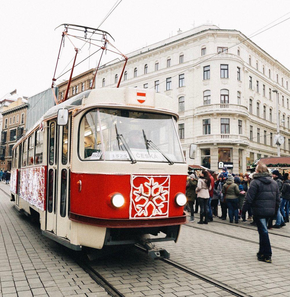 Brno - Christmas tram
