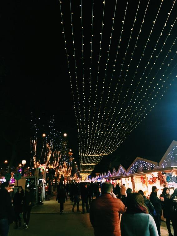 Jarmark świąteczny Paryż