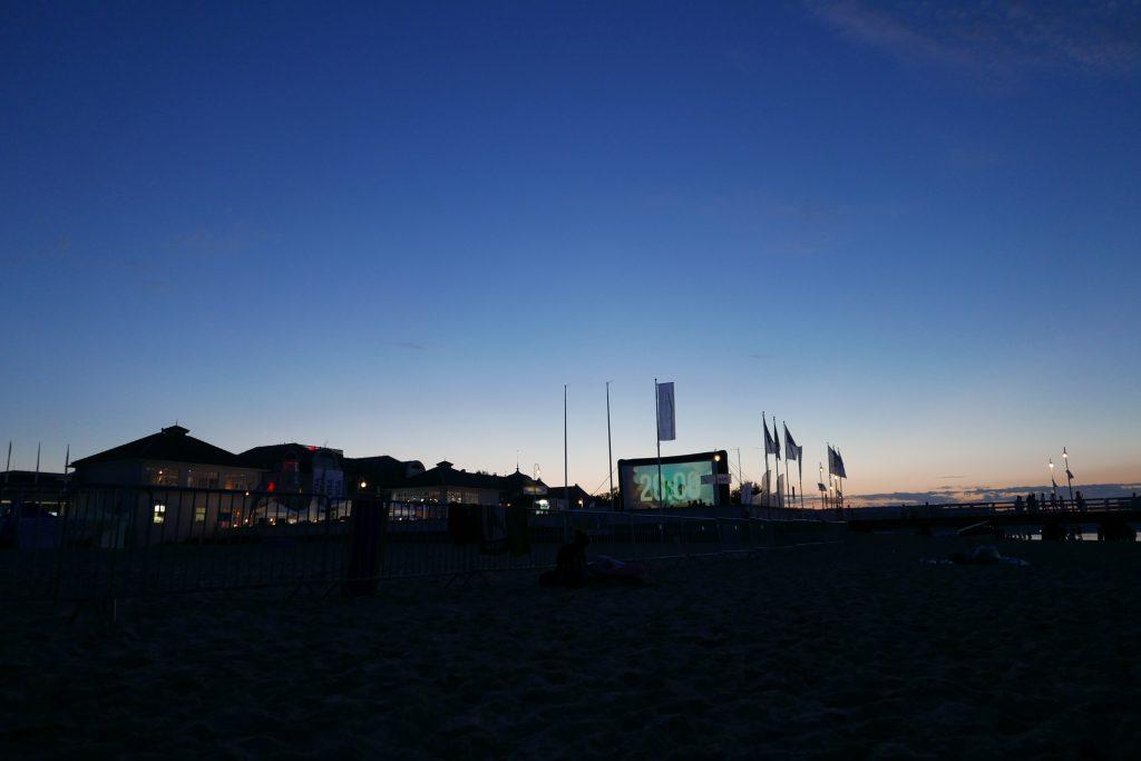 Kino letnie Sopot molo