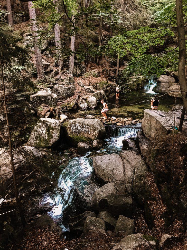 Wodospad w Podgórnej